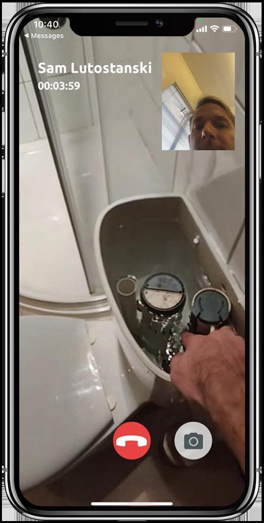 blocked sink, boiler pressure, dripping taps, toilet not flushing